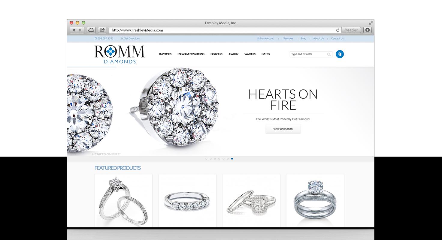 Romm Diamonds of Brockton, MA